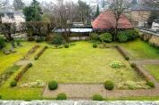 Le charmant jardin du Clos Jouvenet.