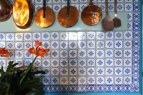 La cuisine de Monet à Giverny.